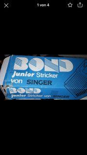 Strickmaschine Bond Singer Junior noch
