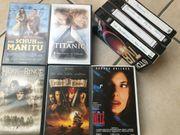 diverse VHS-Videokassetten teils Originale