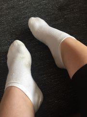 7 Tage lang getragene Socken