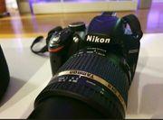Nikon D3200 mit neuem Tamron