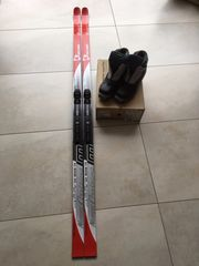 Langlauf Ski mit Schuhe W