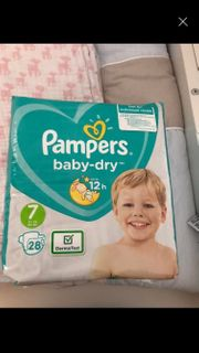 pampers windeln gr 7