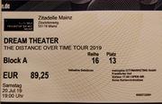 Konzertkarte für Dream Theater am