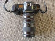 Canon T 70 Spiegelreflexkamera mit