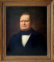 Porträt Biedermeier Gemälde m orig