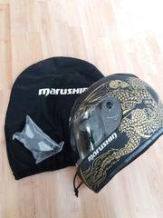 Marushin Motorradhelm inkl Sturmhaube