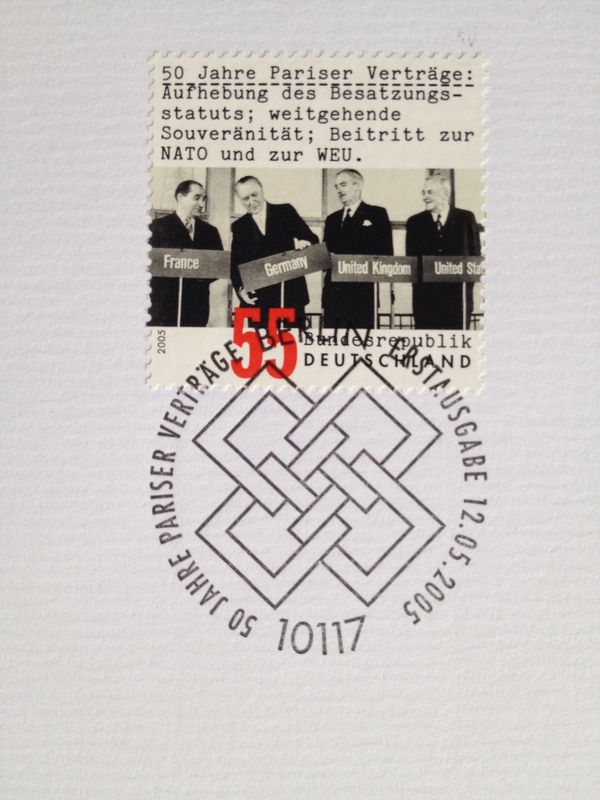 Briefmarke als Sonderpostwertzeichen 2005