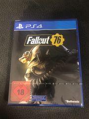 PS4 Spiel Fallout 76 NEU