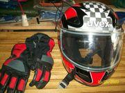 Motorrad - Helm Handschuhe Stumhaube