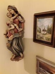 Madonna aus Kaltern Südtirol Handarbeit