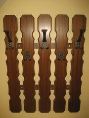 Wandgarderobe Garderobe Wandmontage Holz Metall -