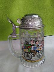 Original Radlerseidel Bierkrug Glas mit