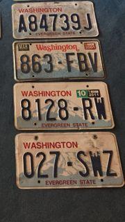 USA Autokennzeichen versch Staaten