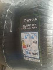 4x Tristar Allwetterreifen 195 60R16 -