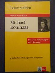 Lektürehilfen Heinrich von Kleist Michael