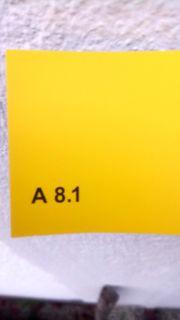 Fassadenfarben gelb