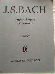 Klaviernoten Pianobuch Orgelheft J S