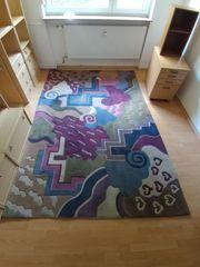 Design-Teppich Hochfloor Einzelstück exklusiv 3
