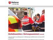 Notfallsanitäter Rettungsassistent w m d