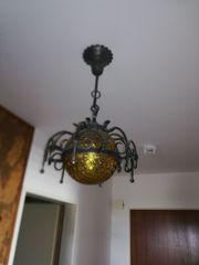 Lampe Schmiedeeisen 2 Stück in