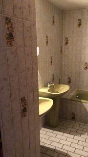 Bad Fliesen Dusche Badewanne Retro