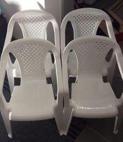Kinderstühle aus Kunststoff