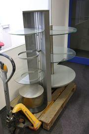 Ladenvitrine Vitrine Verkaufsvitrine Verkaufstheke Glastheke