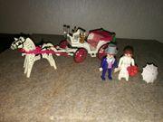 Playmobil Hochzeitskutsche mit Brautpaar