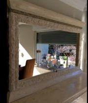 Stuckspiegel Steinmöbel Wandspiegel groß Spiegel