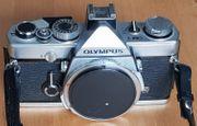 Analoge Spiegelreflexkamera Olympus OM-1 die