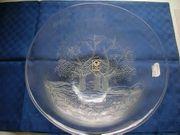 Neue Kristallglasschüssel mit Baummuster von