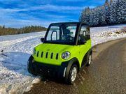 TWIN Microcar Mopedauto Leichtfahrzeug Elektromobil