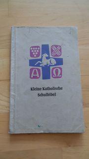 altes Schulbuch Bibel Kleine Katholische