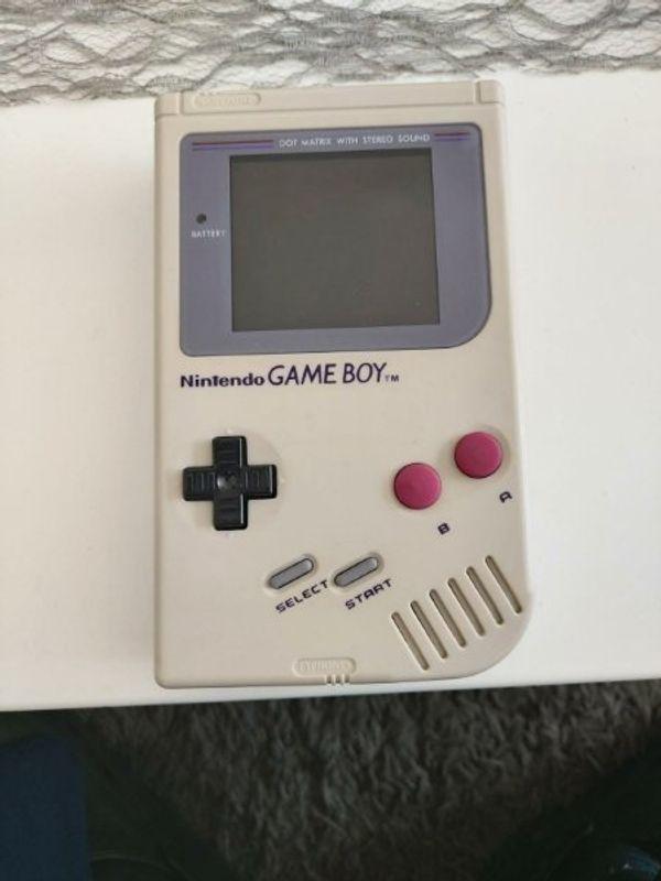Nintendo Gameboy classic in Weiß