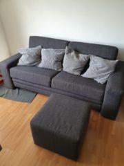2er Sofa mit Bettkasten aus