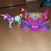 Barbie Regenbogenkutsche