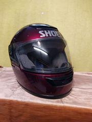 Motorrad- Mopedhelm 2 Visiere für