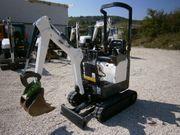 Bobcat E10 Minibagger