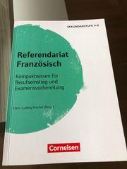 Referendariat Französich Sekundarstufe I II