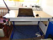 Schreibtisch für Jugendliche höhenverstellbar