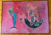 Bilderrahmen Kandinsky Kunstdruck