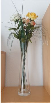 Vase mit Deko
