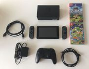 Nintendo Switch mit 2 Spiele