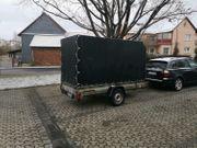 Vermiete Mietanhänger Möbeltransporter Anhänger Planenanhänger