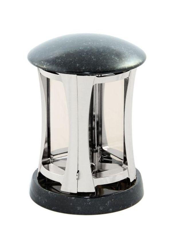 Exclusive Grablampe silber glänzend mit