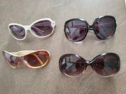 4 Sonnenbrillen als Set - wie