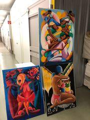 Gemälde Karibik