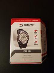 Sigma Herzfrequenz Puls Monitor PC15
