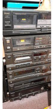 Hifi Konvlut 8 Geräte TEAC