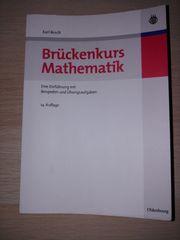 Buch Brückenkurs Mathematik